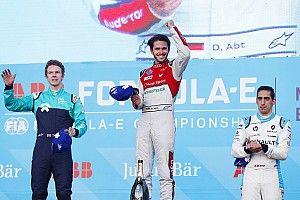 Abt logra su primer triunfo en la Fórmula E