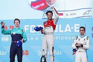 Abt logra su primer triunfo en el ePrix de México