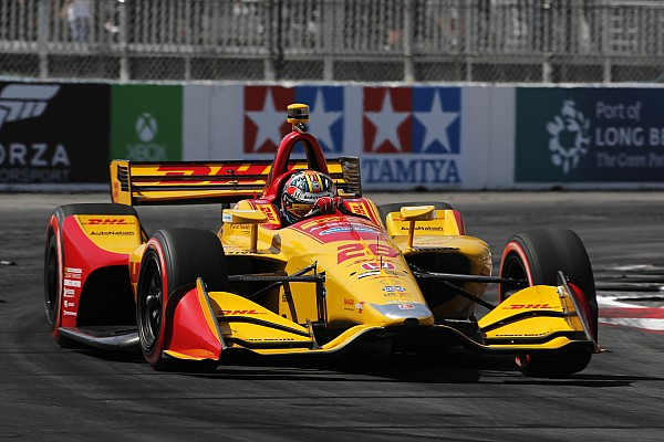 """Hunter-Reay admits his Long Beach race was """"a complete nightmare"""""""