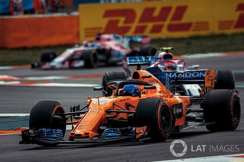"Alonso: ""McLaren alcanzó a Renault y a Haas"""