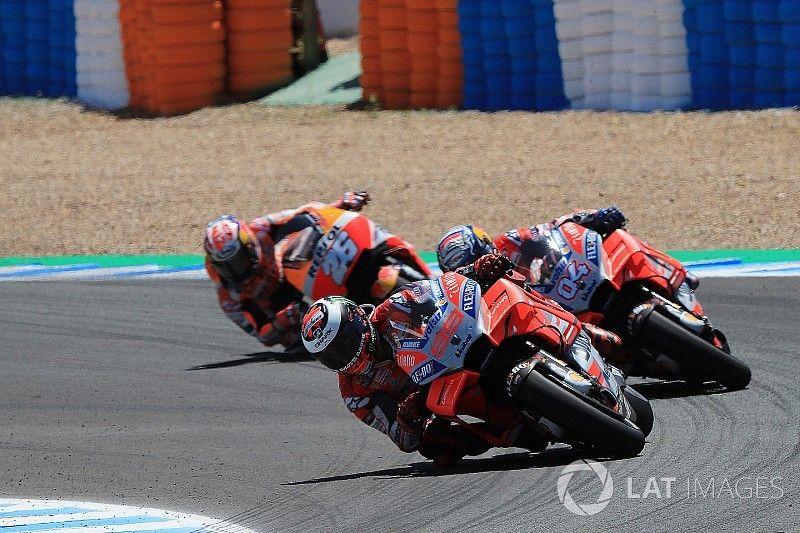 "Jerez crash involved MotoGP's ""three cleanest riders"""