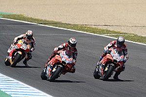 Dovizioso salahkan Pedrosa dan Lorenzo