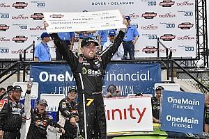 NASCAR XFINITY Race report Allgaier holds off Sadler for Dover win and $100,000 bonus