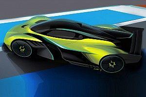 В Aston Martin представили гоночную версию гиперкара Ньюи