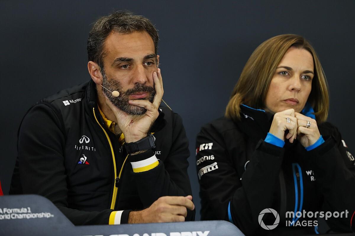 A csapatfőnök szerint Abiteboul, C. Williams és Binotto nem végez jó munkát, távozniuk kell