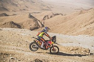 "Dakar bike stars hit out at ""dangerous"" new tyre rules"