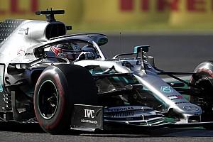 A Mercedes aggódott Hamilton miatt, amikor Leclerc autójáról leszakadt az elem