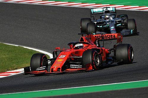"""Vettel dice que """"no hay una razón"""" por su error en la salida"""
