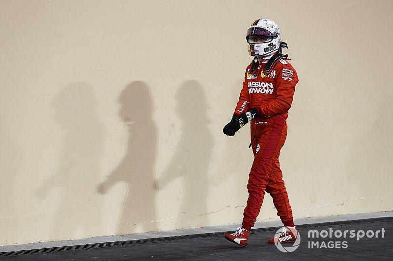 """Vettel admite que debe """"hacerlo mejor"""" en 2020"""