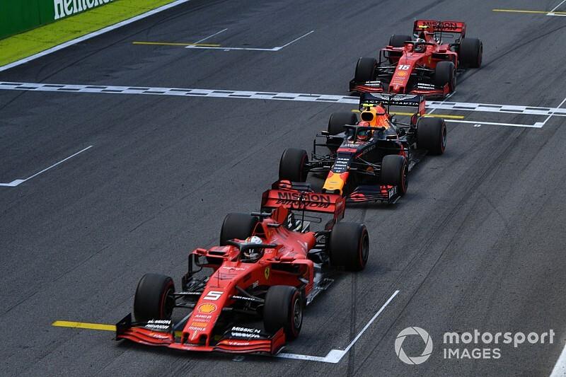 Las mejores fotos del alocado GP de Brasil 2019 de F1