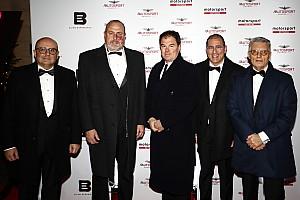 Le vice-président du gouvernement de Tenerife, Enrique Arriaga était présent à Londres à l'Autosport Awards 2019