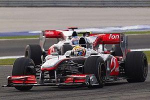 McLaren-bolide van Hamilton onder de hamer