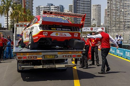 Supercars to investigate balcony debris report