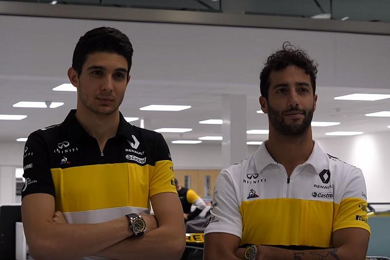 Renault обновила командную форму. Намек на ливрею машины?