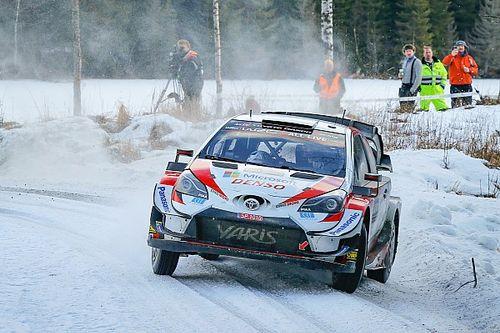 Evans y Toyota se imponen en Suecia