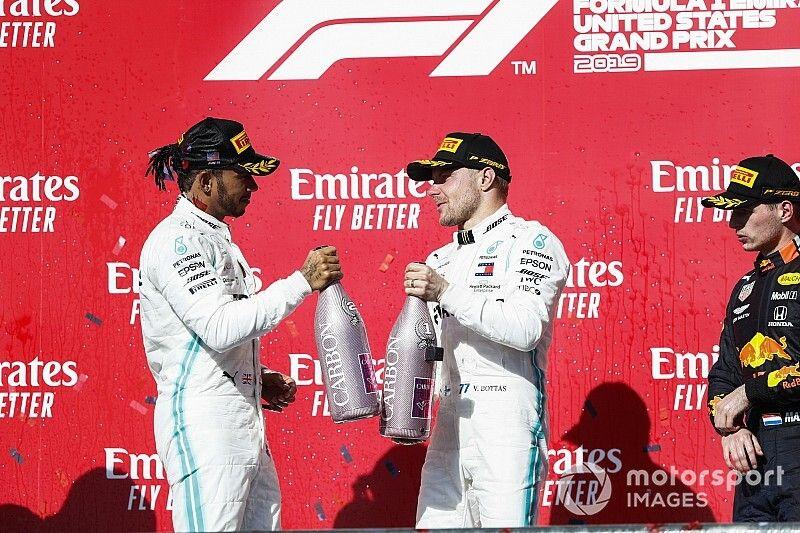 TABELA: Hamilton fatura hexa e Bottas garante vice da Fórmula 1