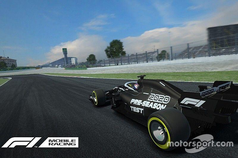 El juego de la F1 para móviles empieza a probar los coches 2020