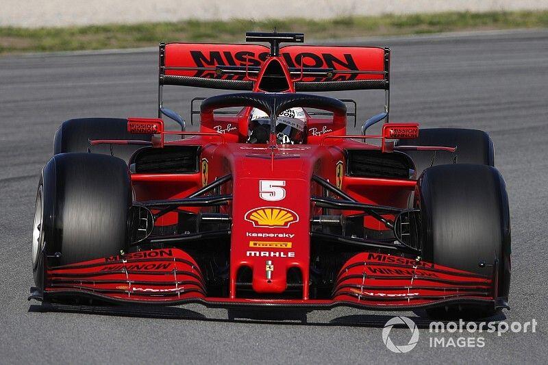 Ferrari teste de nouvelles pièces à Barcelone