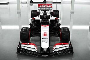 Haas voor het eerst in actie met 2020-auto tijdens filmdag
