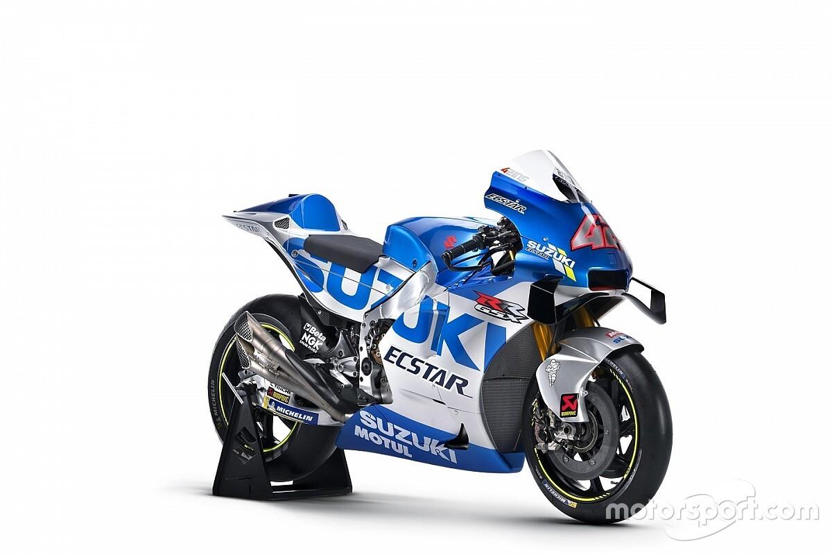 Mutatós, különleges festést kapott a Suzuki a MotoGP-ben