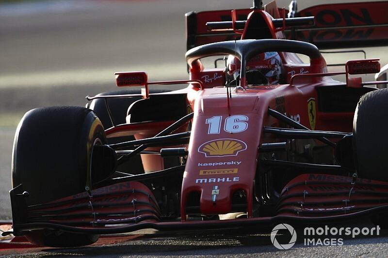 Leclerc says new Ferrari offers greater set-up flexibility