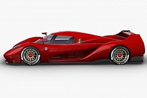 Los nuevos bocetos de uno de los futuros hipercoches de Le Mans