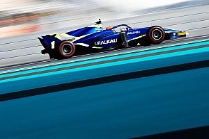 Мазепин показал лучшее время в последний день тестов Формулы 2 в Абу-Даби