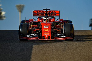 Test F1 Abu Dhabi: Bottas al top, problema agli scarichi per Vettel