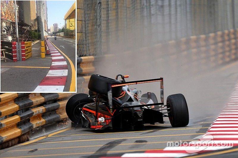 Macau makes changes to Floersch crash corner