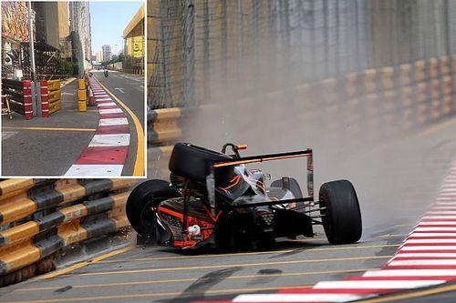 Macau past circuit aan wegens crash Floersch
