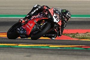 Redding tops rain-affected Aragon WSBK test