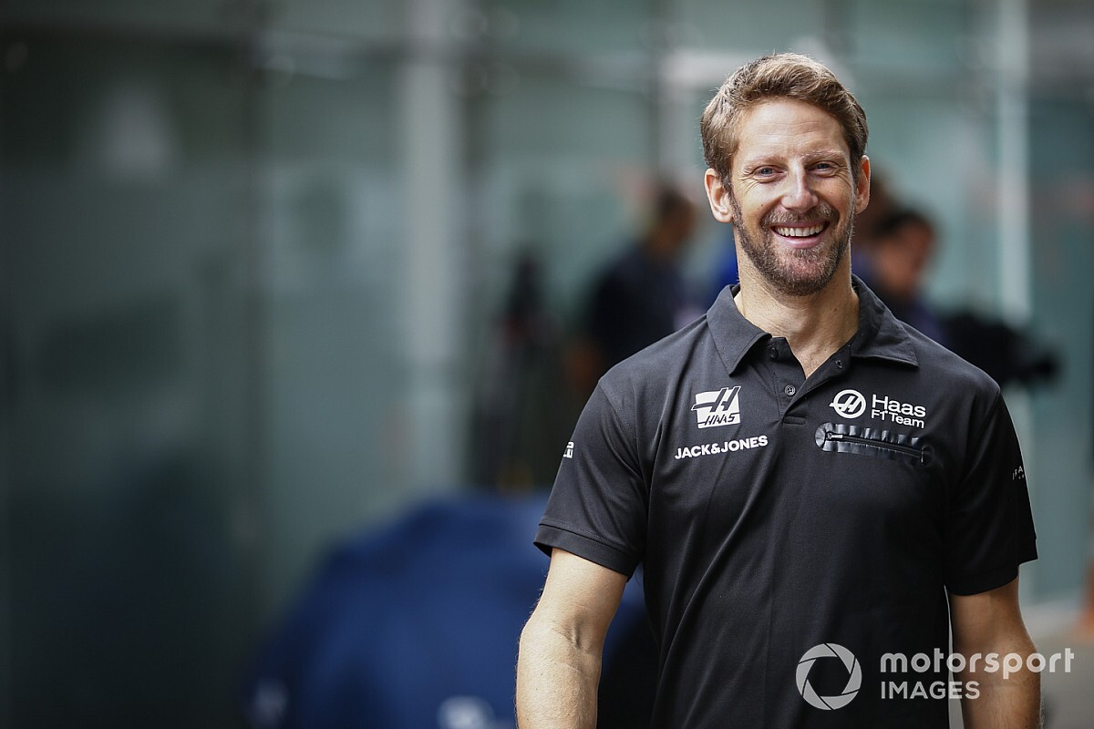 Grosjean: Tal vez sea pésimo, pero llevo 169 grandes premios