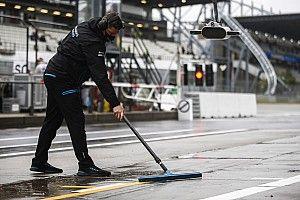 F1, Eifel, Libere 2: non si è girato, un'altra figuraccia