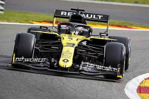 """Ricciardo : """"Une belle récompense"""" pour Renault en deuxième ligne"""