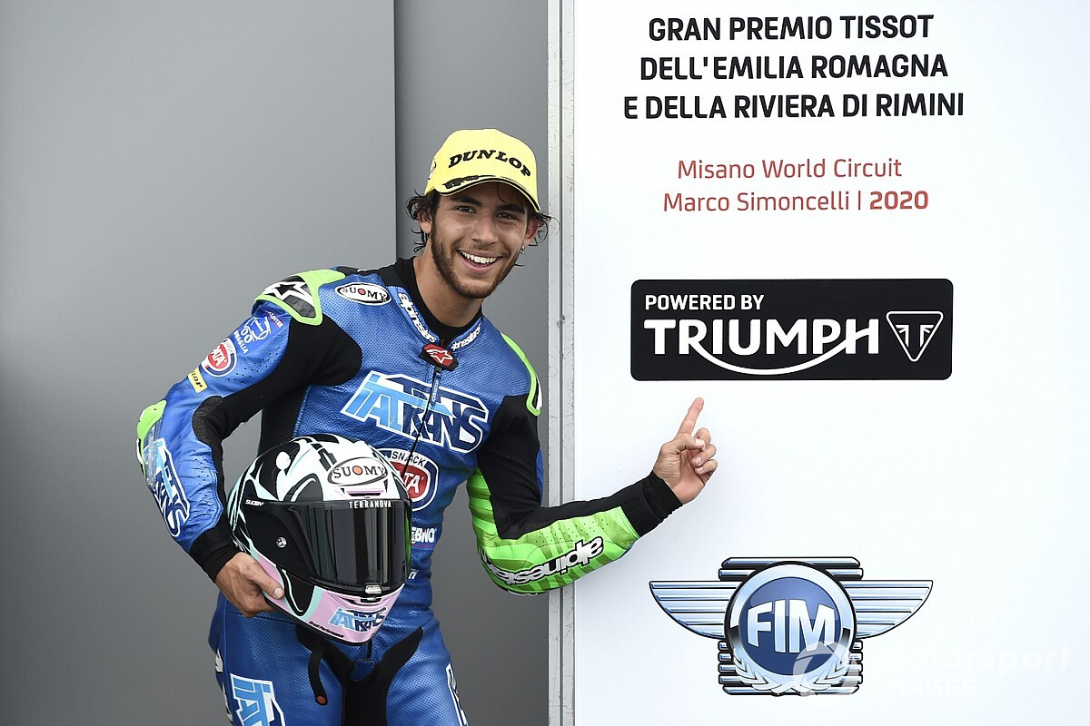 Misano Moto2: Bastianini wins red-flagged race