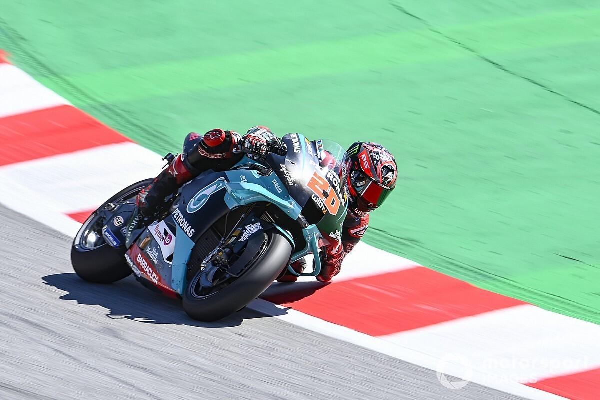 GP de Catalogne: les meilleurs tours en course