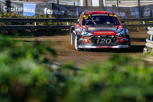 Finland WRX: Gronholm holds on to win wet home event