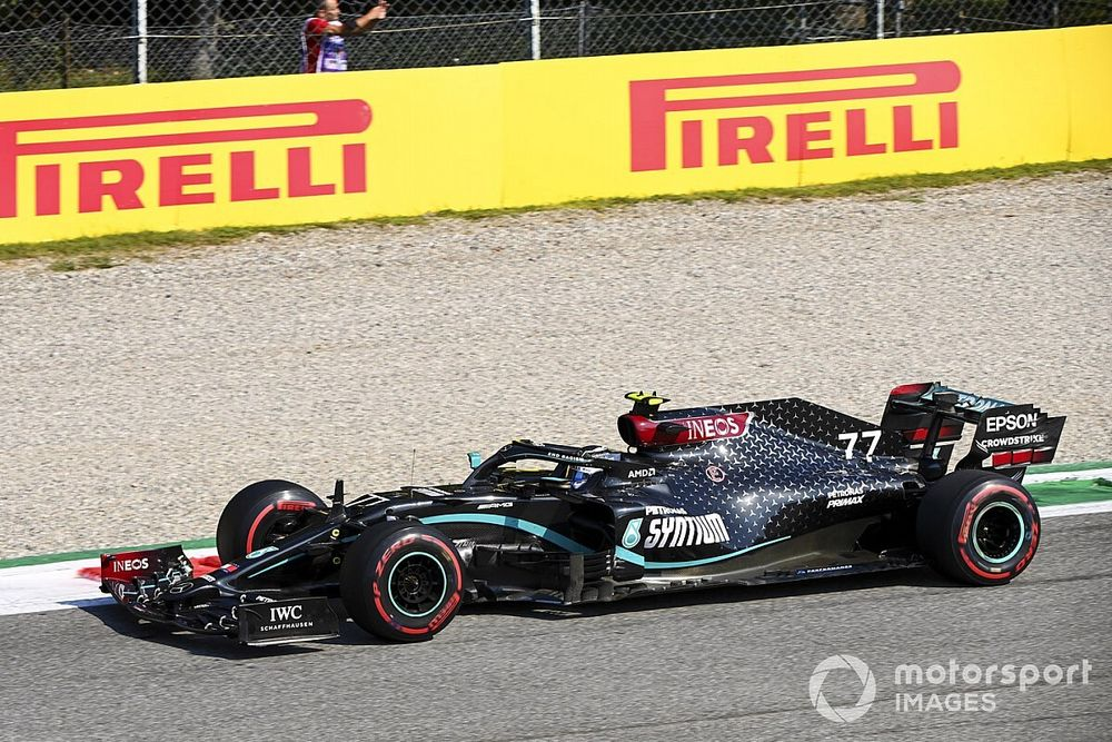 Toskana GP 1. antrenman: Bottas ilk sırada, Leclerc üçüncü