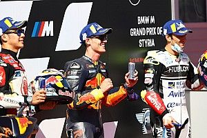 La parrilla de salida del GP de Estiria de MotoGP 2020