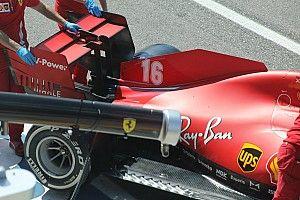 Ferrari ali scariche: dimezzato il flap mobile rispetto a Spa