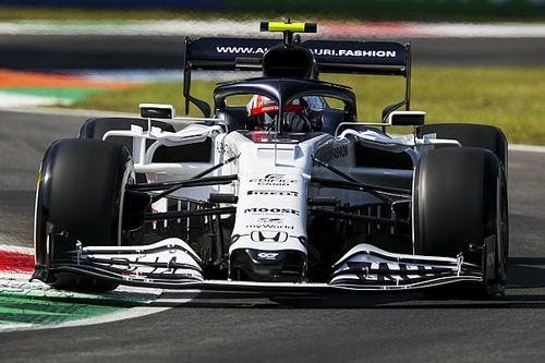 F1イタリアFP2:ガスリー4番手でホンダPU最上位。メルセデス盤石、ハミルトンがトップ