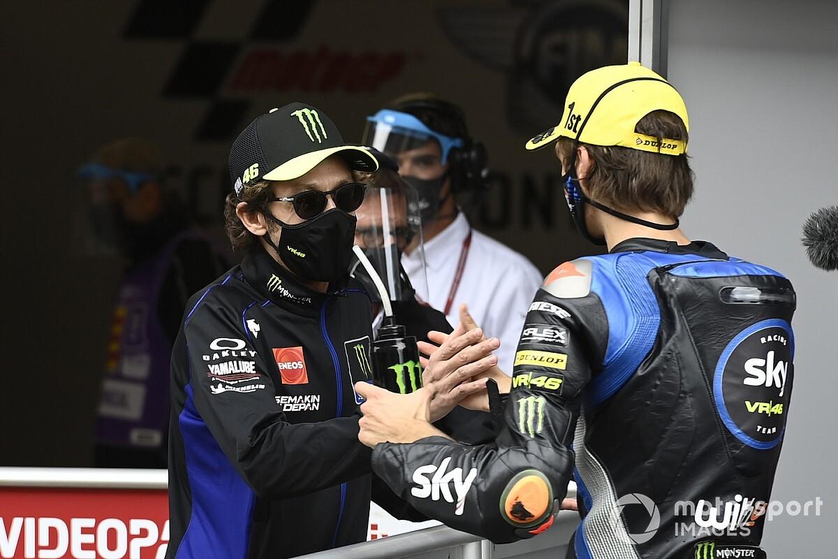 Rossi Optimistis Marini Bisa Cepat di MotoGP