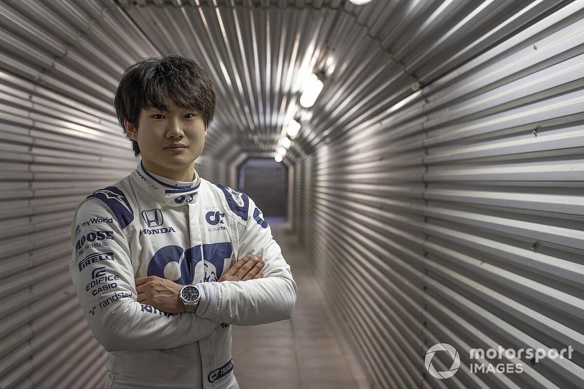 AlphaTauri schiera Tsunoda nei rookie test di Abu Dhabi