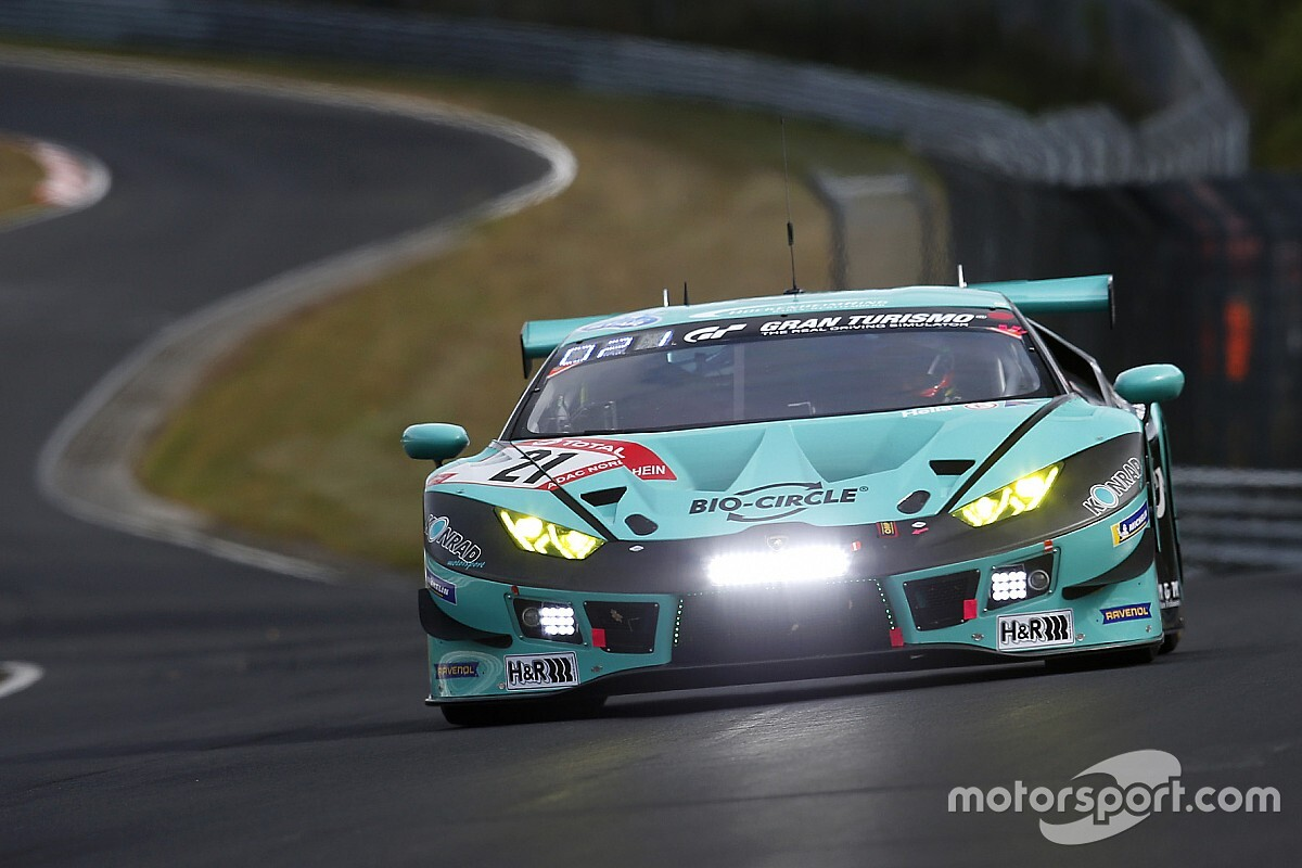 24h Nurburgring: Lamborghini al top anche in Q2