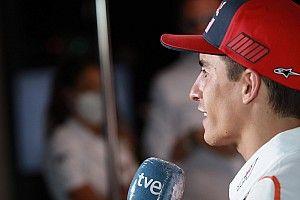 Marc Márquez, blessé, promet de revenir vite