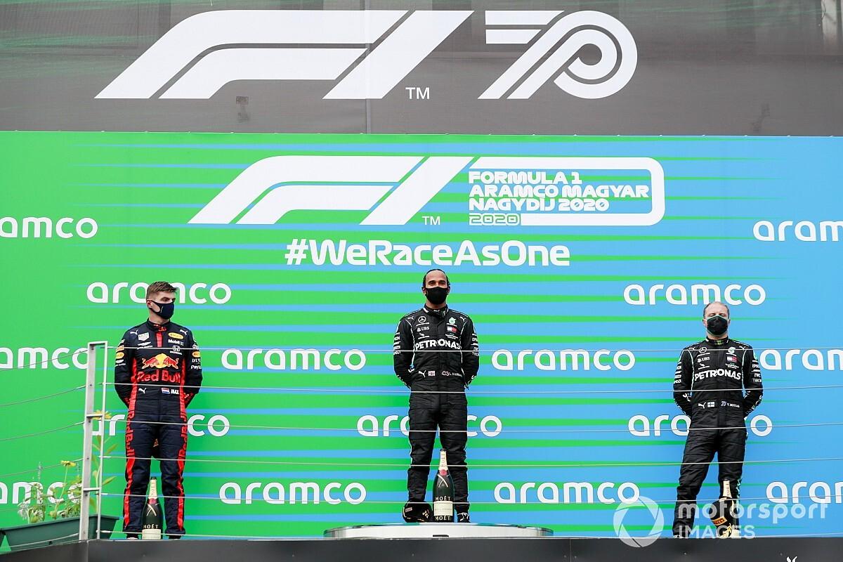ترتيب بطولة العالم للفورمولا واحد بعد جولة المجر