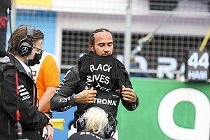 Hamilton, ırkçılık karşıtı etkinlik konusunda Grosjean'ı suçladı