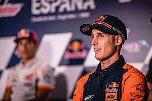 Pol Espargaró adelanta su 'debut' con Honda