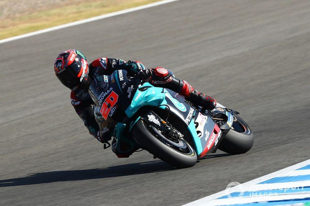MotoGP, Andalusia: Quartararo pole, Bagnaia in prima fila