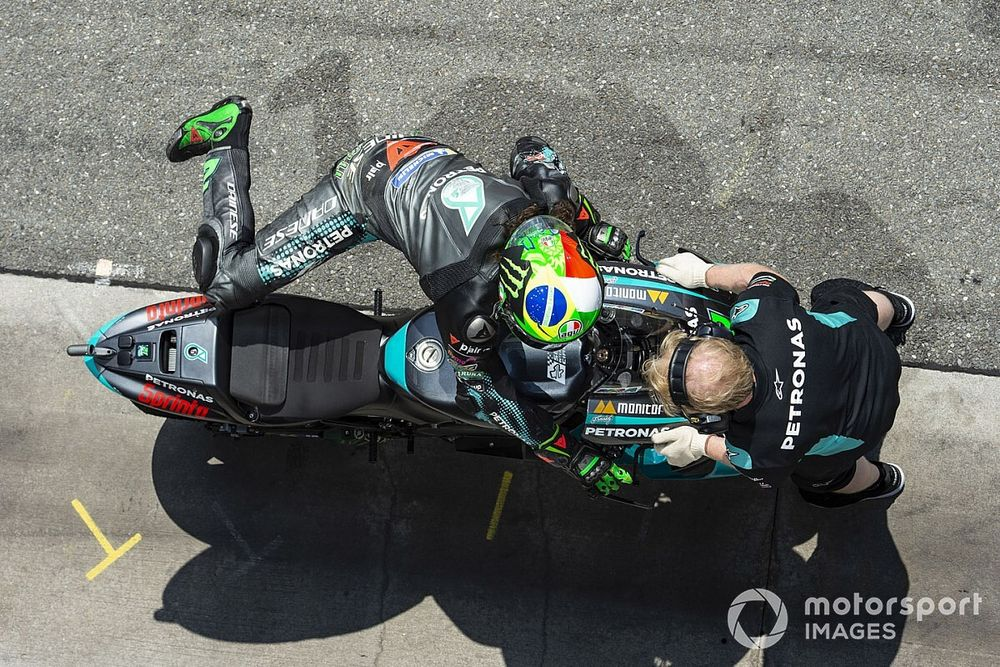 Quartararo usa su cuarto motor y Morbidelli, el quinto